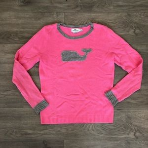 Vineyard Vines Cashmere Blend Pink Sweater